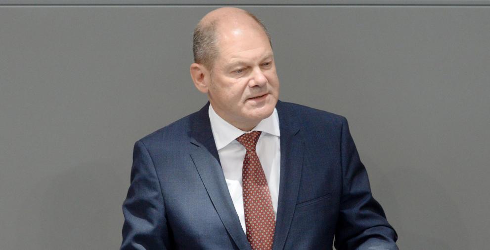 Olaf Scholz (SPD) will wegen der Corona-Pandemie die Verschuldung des Bunds hochfahren.