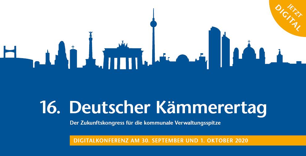 Findet dieses Jahr als Digitalkonferenz statt: der Deutsche Kämmerertag.