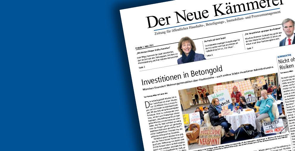 Die neue Ausgabe von Der Neue Kämmerer steht jetzt zum Lesen bereit!