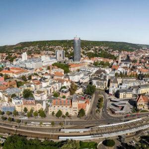 Ist wegen des Coronavirus in eine Haushaltsnotlage geraten: die Stadt Jena.