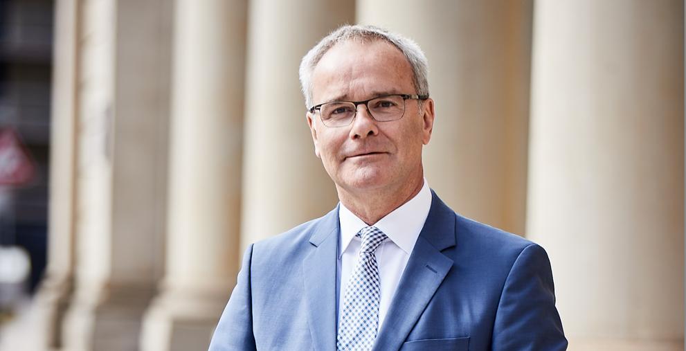 Ist erfreut über den Beschluss des Bundesverfassungsgerichts vom 7. August: Helmut Dedy, Hauptgeschäftsführer des Deutschen Städtetages.