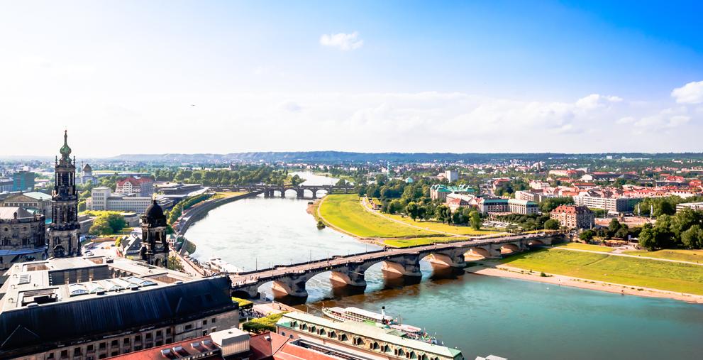 Hat wegen der Coronakrise eine Haushaltssperre verhängt: die Stadt Dresden.