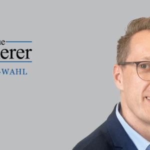 Der Kämmerer des Märkischen Kreises, Kai Elsweier, hat sich an der Kämmerer-Wahl beteiligt.