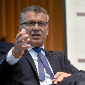 """Haushaltsstaatssekretär Werner Gatzer (SPD): """"Ich glaube, dass EPSAS für alle Beteiligten einen Mehrwert haben kann."""""""