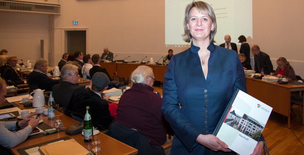 Anja Franke wird neue Kämmerin der Stadt Hilden.