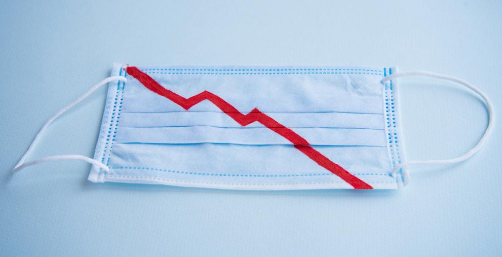 Die Einnahmen aus der Gewerbesteuer zeigen bei Kommunen coronabedingt steil nach unten.