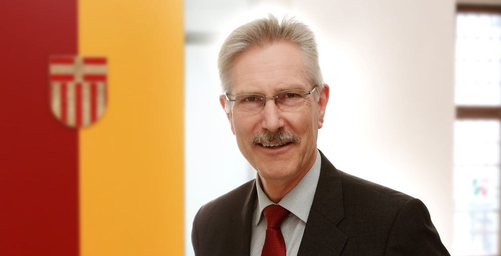 Bis Jahresende ist Bernhard Hartmann noch Kämmerer der Stadt Paderborn.
