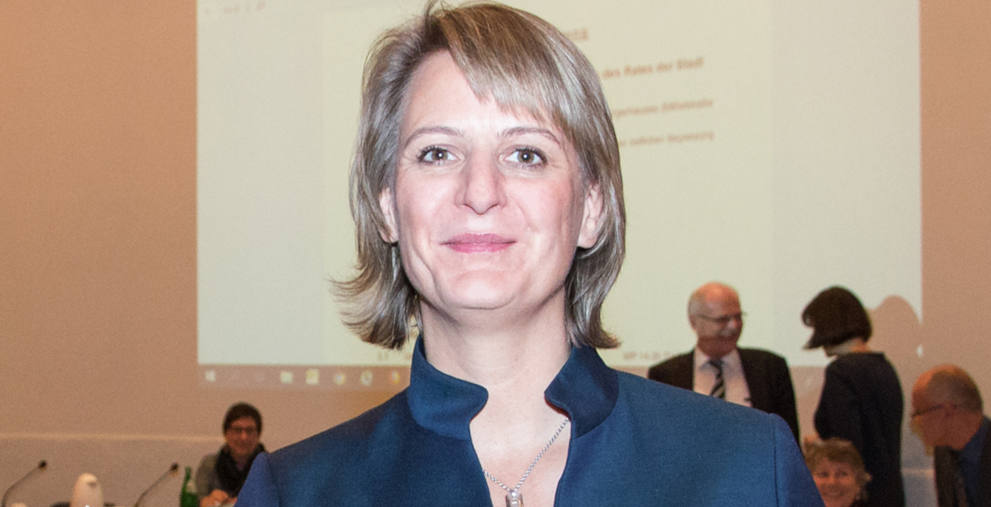 Anja Franke ist seit vergangenem Jahr Kämmerin der NRW-Kommune Hilden.