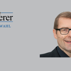 Axel Imholz, Kämmerer der Stadt Wiesbaden, hat den Kämmerer-Wahl-Fragebogen beantwortet.