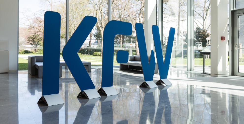 Die KfW rechnet damit, im kommenden Jahr Kredite mit Negativzinsen an Kommunen auszugeben.