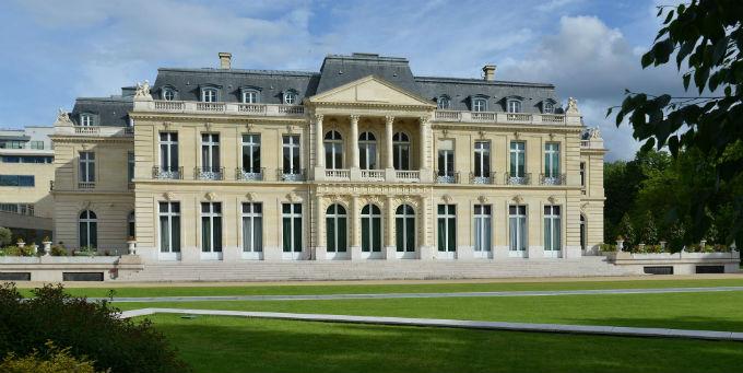 Das Château de la Muette, der Hauptsitz der OECD