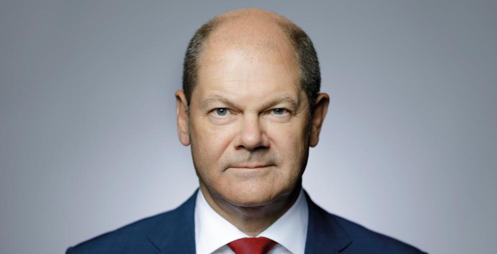 Olaf Scholz spricht im DNK-Interview über sein vorgeschlagenes Entschuldungsprogramm.
