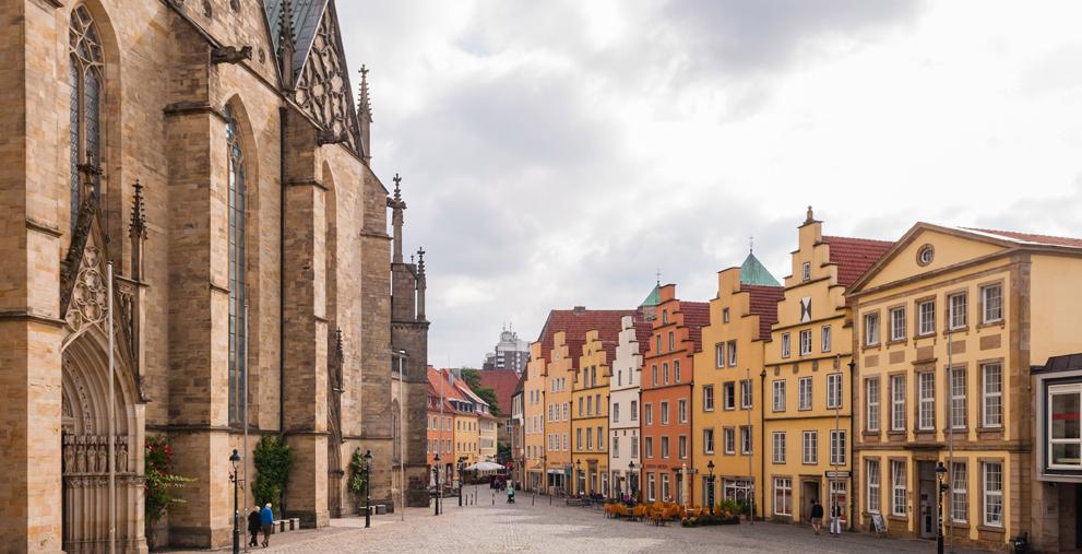 Marktplatz in Osnabrück: Die Niedersachsen haben den Umsatzsteuerparagraphen 2b umgesetzt.