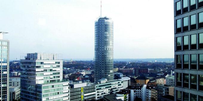 Die Zentrale der RWE AG in Essen.