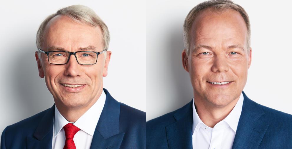 Die SPD-Politiker Bernhard Daldrup (links) und Matthias Miersch fordern einen Rettungsschirm für Kommunen.