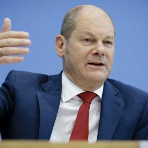 Hat in dieser Woche die aktuelle Steuerschätzung vorgestellt: Bundesfinanzminister Olaf Scholz.