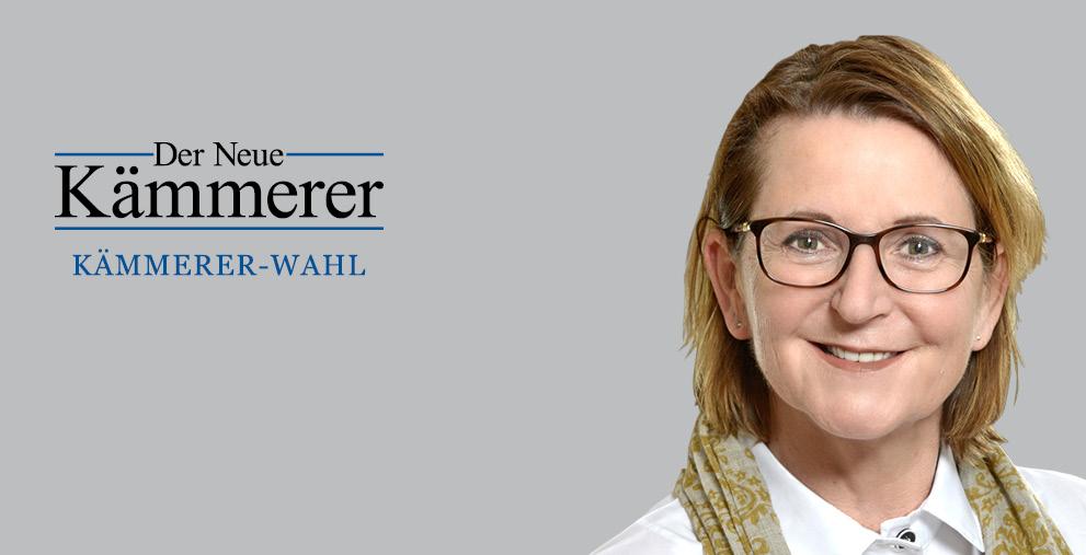 Rödermarks Erste Stadträtin und Kämmerin, Andrea Schülner, hat sich an der Kämmerer-Wahl beteiligt.