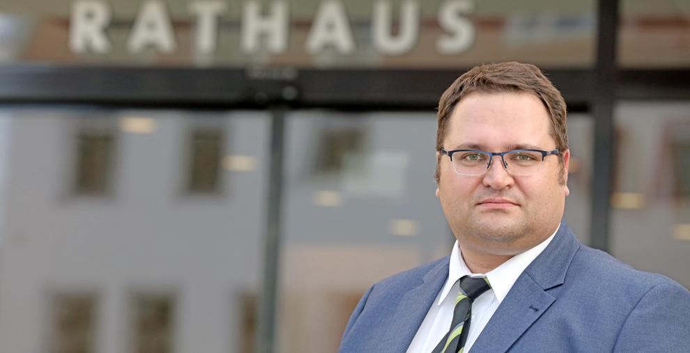 Sebastian Lasch wird der neue Bürgermeister für Finanzen und Ordnung in Zwickau.