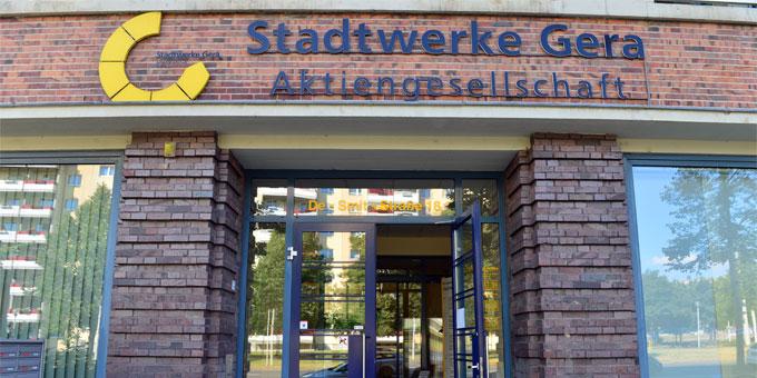 Seit Sommer 2014 befinden sich die Stadtwerke Gera im Insolvenzverfahren.