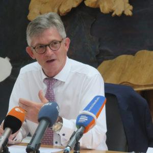 Erachtet die Altschuldenfrage als ungeklärt: Ralph Spiegler, Präsident des Deutschen Städte- und Gmeindebundes.
