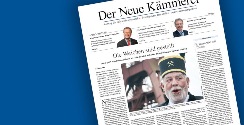 """Die neue Ausgabe von """"Der Neue Kämmerer"""" ist da!"""