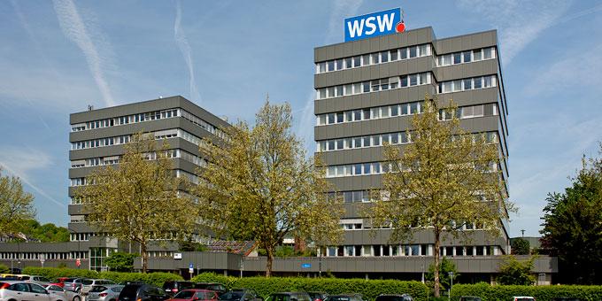 WSW-Verwaltungsgebäude in Wuppertal