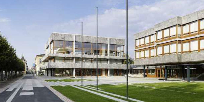 Das Bundesverfassungsgericht in Karlsruhe verhandelt über die Grundsteuer.