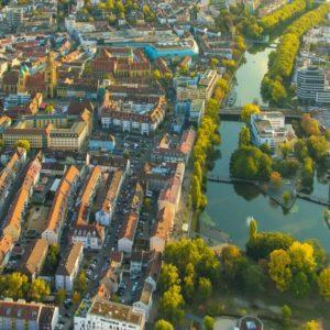 Wird zum KI-Innovationszentrum in Baden-Württemberg: die Stadt Heilbronn.