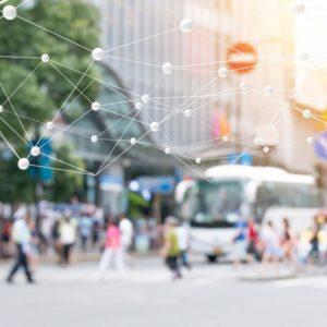 Die Entwicklung zur Smart City bringt Fragen zur IT-Sicherheit mit sich.