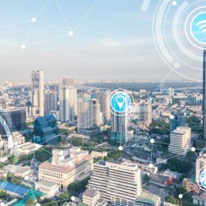 Die Stadt von morgen ist smart: Dafür soll eine neue Transferstelle zum Austausch von Smart-City-Wissen beitragen.