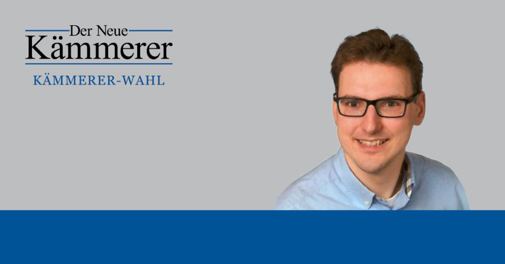 Matthias Stopp, Kämmerer in Aue-Bad Schlema, hat die Fragen der Kämmerer-Wahl beantwortet.